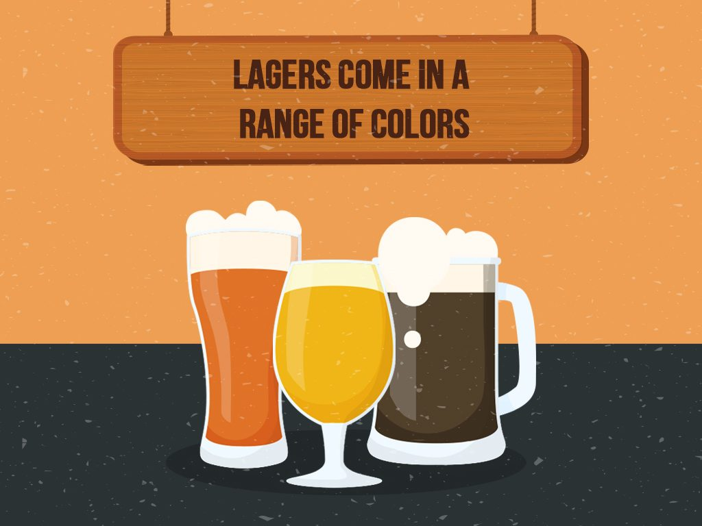 Lagers Come In A Range Of Colors