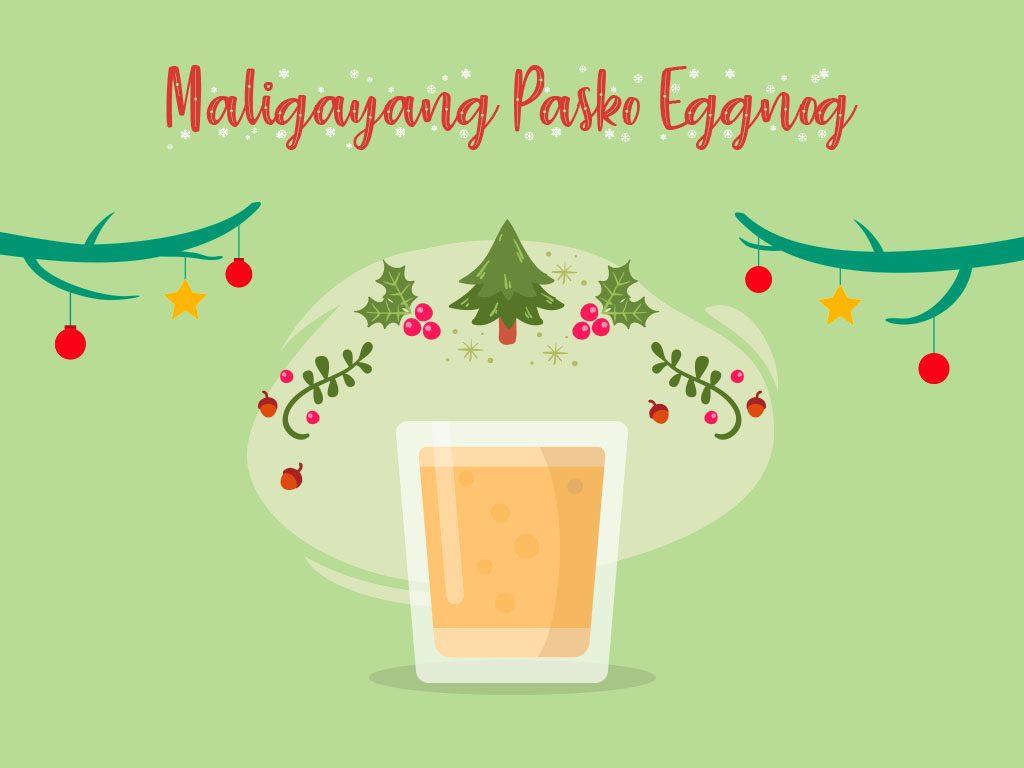 Maligayang Pasko Eggnog