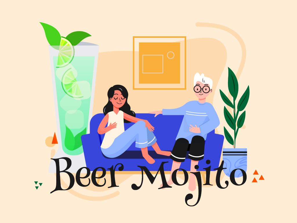 Beer Mojito